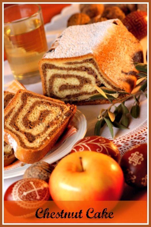 Chestnut Cake. http://www.ifood.tv/recipe/chestnut_cake