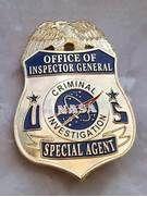 NASA Criminal Investigation Badge for sale | Police & Law ...