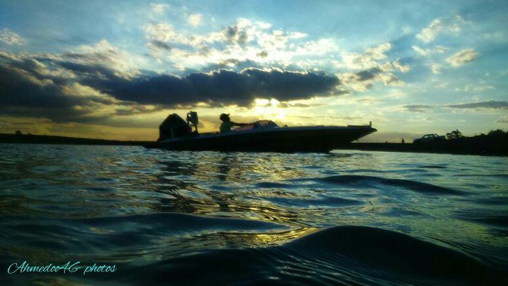 Life is simple...  Just add water...  #boating #speedboat #suzuki #140hp #power...