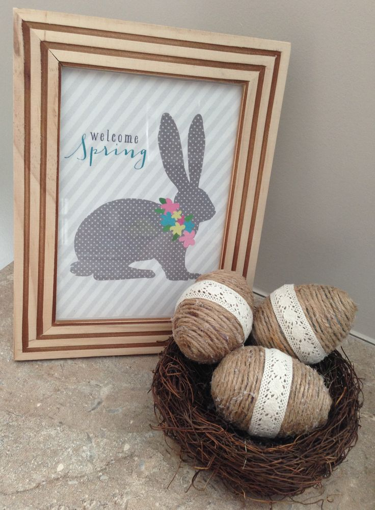 Easter eggs: Rustic   Chic Makeover