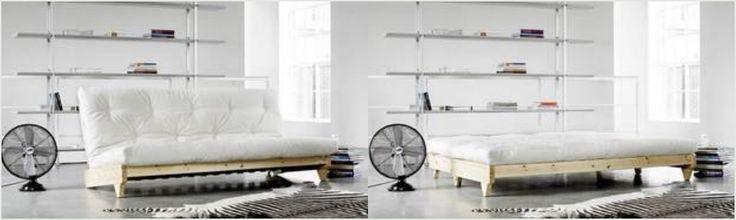 Futon sovesofa. Se flere smarte multimøbler på frubruun.dk blog