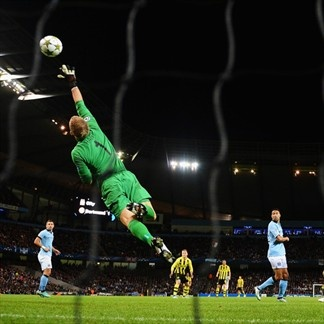 Joe Hart, Man. City | Man. City 1-1 Borussia. 03.10.12.