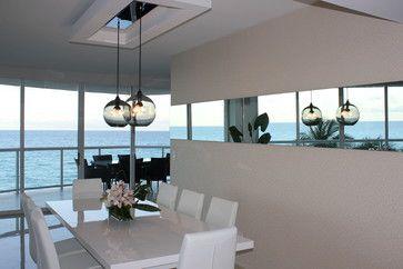 North Miami contemporary dining room