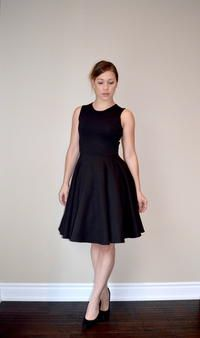 Make a dress perfect for every occasion that fits your body like a dream with this Perfect Little Black Dress Pattern. This free dress pattern is the best way to make a fit and flare dress that's flirty, classic, and stunning all in one.