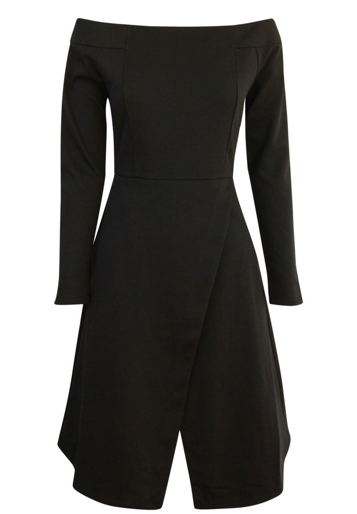 August Street - - Hold Me Hostage Dress In Black