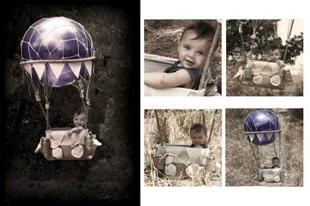 Hot Air Balloon photo shoot for your baby or toddler $280 book with elska studios 0418825925 or at  www.elska.com.au photography by elska studios