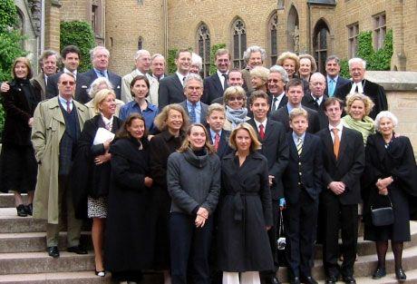 Ricongiungimento familiare nel giugno 2001 al Burg Hohenzollern