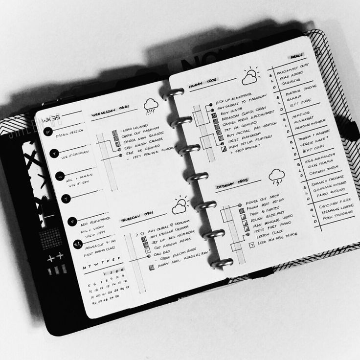 Trend See how Cristina shilen qc uses her minimal bullet journal to manage her home