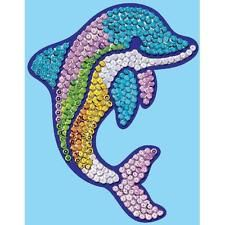Kit Fix Swallow Ltd. Sequin Magic Delfin Schmuck Dekoration Weihnacht Figur Tier
