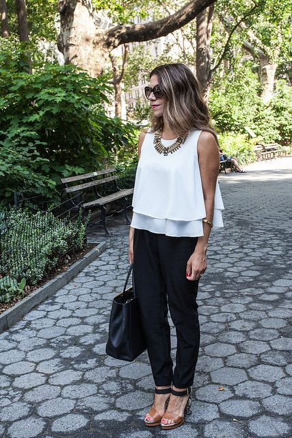corporate catwalk : Black & White