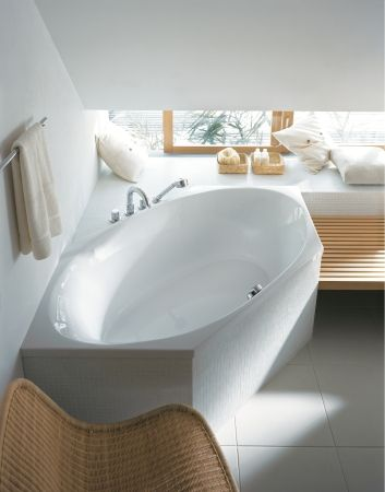 Duravit - Serie per il bagno: 2 x 3 - Vasche da bagno esagonali e vasche idromassaggio esagonali