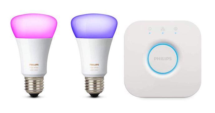 Philips Hue Starterset Fur 79 99 Euro Bei Amazon Im Angebot Led Lampe Starter Set Led