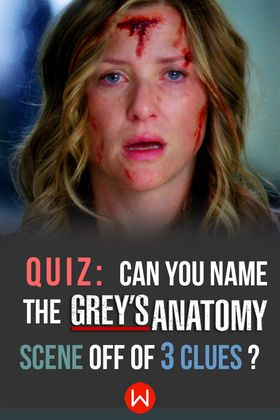Is 3 clues enough for you, Grey's Anatomy superfan? Try out this trivia quiz, which features Meredith Grey, Derek Shepherd, and more! Ellen Pompeo, Greys Anatomy trivia, Shondaland, Merder, Dark and twisty, Arizona, Shonda Rhimes.