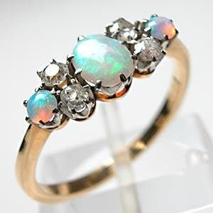 engagement bling with opals: Opals Rings, Opal Rings, Opals Engagement Rings, Diamond Rings, Diamonds Rings, Wedding Rings, Victorian Era, Dreams Rings, Opal Engagement Rings