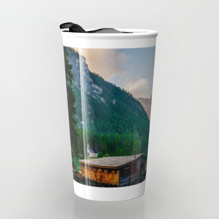 The Place To Be III Travel Mug by Mixed Imagery | Society6