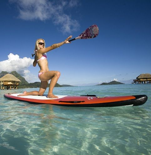 Gillian Gibree on Standup Paddle Yoga. Love this water sport ,anyone can do it !