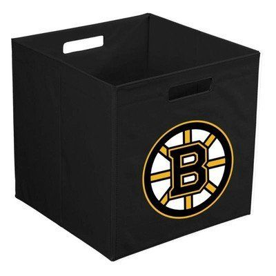 "Boston Bruins 12"" Cube Collapsible Storage Bin by Your Sports Memorabilia Store. $12.99"
