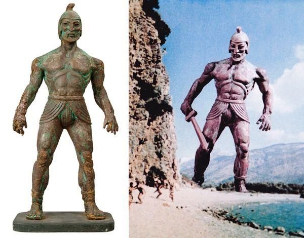 Ray Harryhausen's Talos from Jason And The Argonauts (1963)