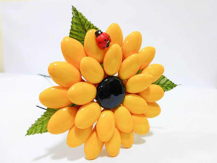 Segnaposto Matrimonio Girasoli : Girasole grande confetti di sulmona bomboniere segnaposto