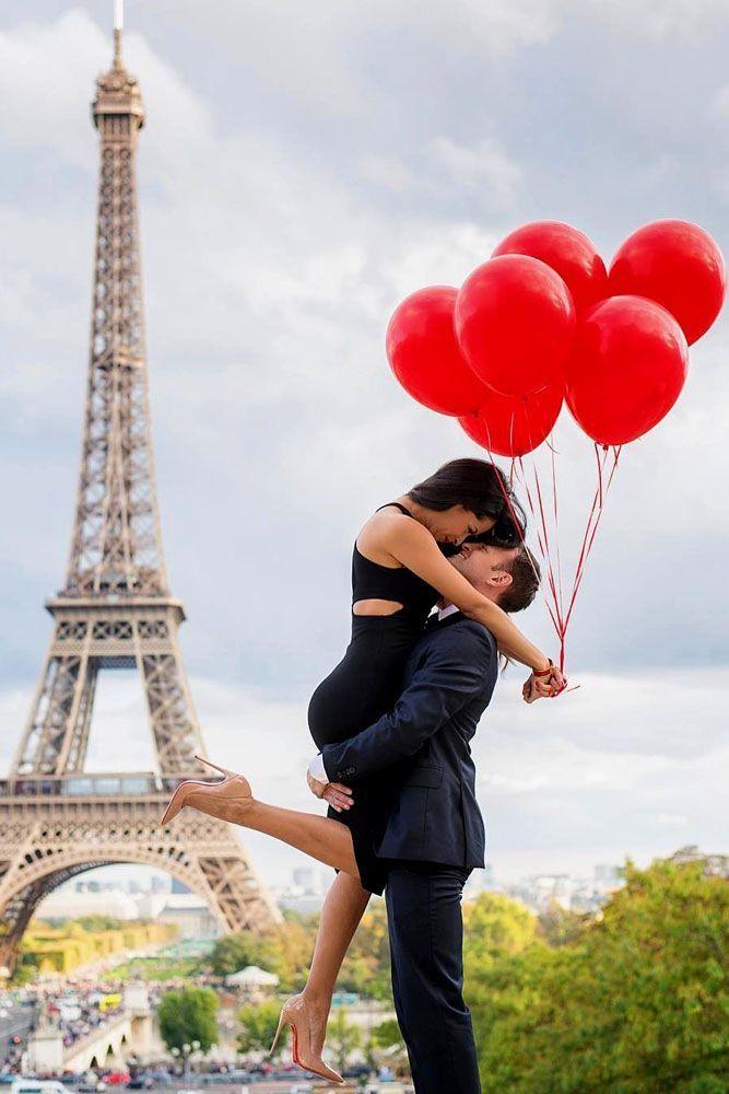деятельного фото целующихся на фоне эйфелевой башни швабры, совки