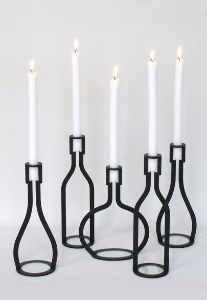 Bottle Candle Holder Peter van de Water