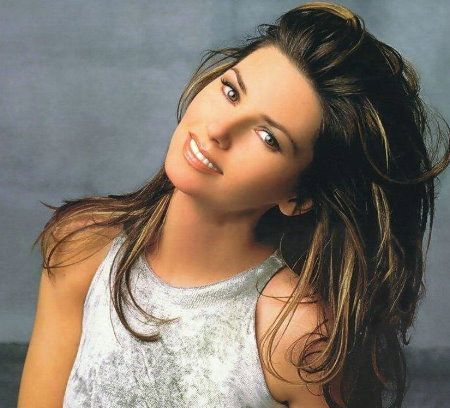 Shania Twain, OC ( /ʃəˌnaɪ.ə ˈtweɪn/; born Eilleen Regina Edwards; August 28, 1965) is a Canadian country pop singer-songwriter. Her album The Woman in Me (1995), brought her fame and her 1997 album Come On Over, became the best-selling album of all time by a female musician in any genre, and the best-selling country album of all time. It has sold more than 40 million copies worldwide and is the ninth best-selling album in the U.S.[1] Her fourth album, Up!, was released in November 2002.