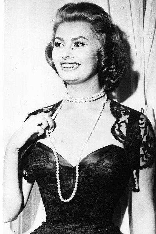 """"""" Sophia Loren, 1957. """""""