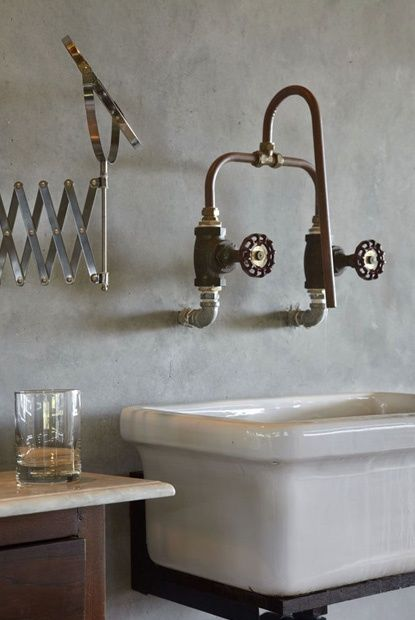Utilitarian bathrooms