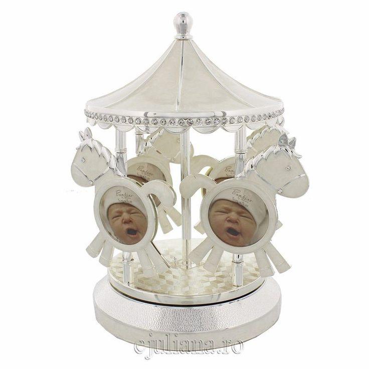 Carusel muzical pentru bebelusi Bambino