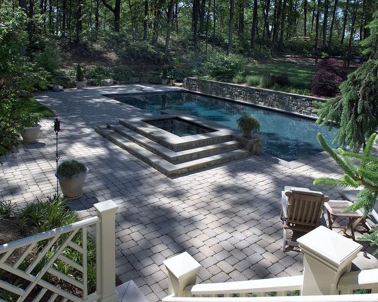 Rectangle Pool With Water Feature 52 best rectangle pools images on pinterest | rectangle pool
