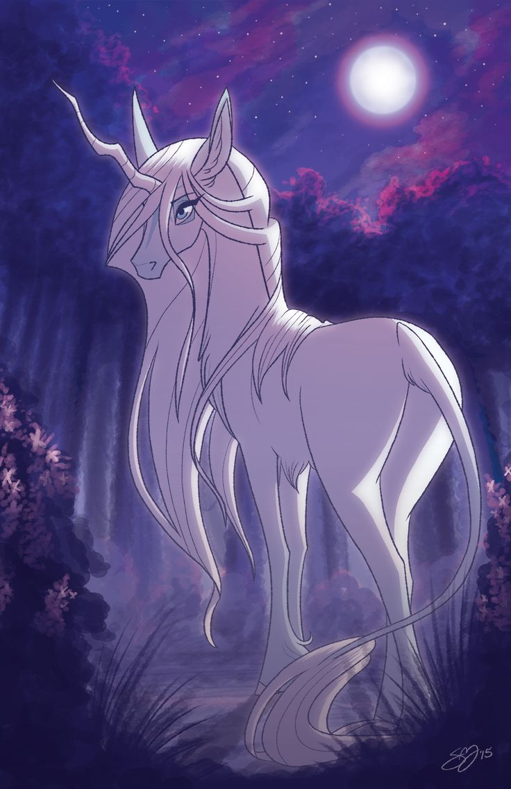 The Last Unicorn print to be sold at conventions this year