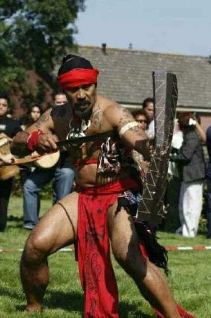 Cakalele Dance, traditional dance from Ambon, Maluku