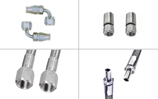 Stainless Steel Teflon Hose Fittings #StainlessSteelTeflonHoseFittings