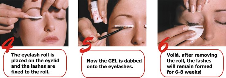 Image result for eyelash perming how it works