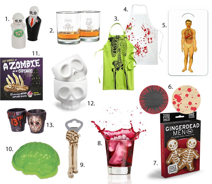 Zombies, Skeletons, and Cupcakes: Happy Friday the 13th! | Brit + Co.