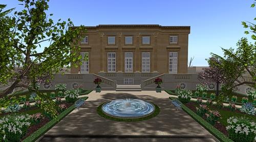 Petit Trianon: French Garden Parterre SL | Tatiana Dokuchic #secondlife