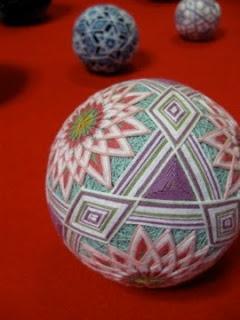 TEMARI (Traditional Japanese embroidered balls.)