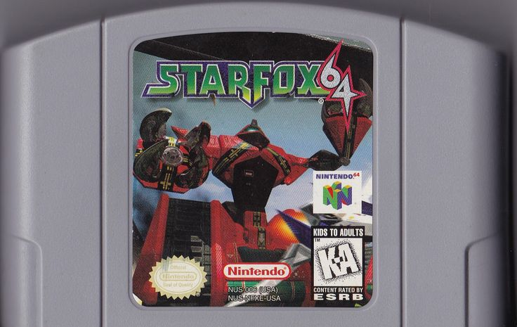 Star Fox 64 (Nintendo 64, 1997) Cartridge Only, Free Shipping