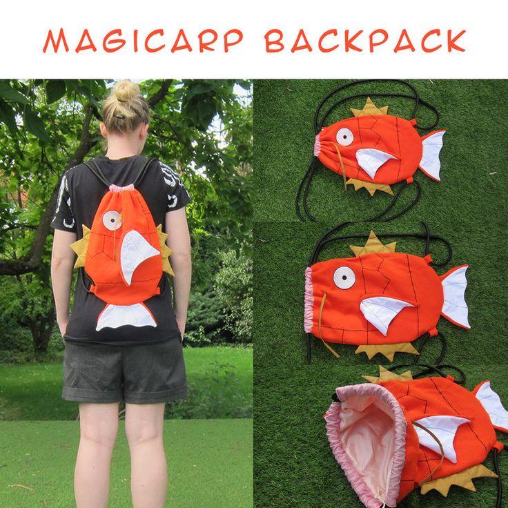 Magikarp Backpack by www.deviantart.co… on @DeviantArt
