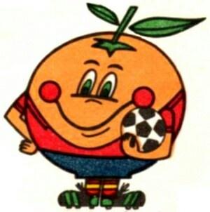 Naranjito. La mascota del Mundial 82