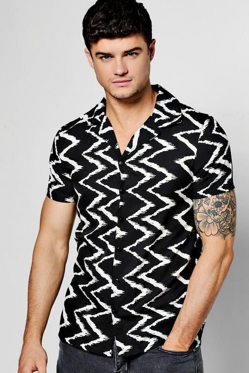 1ba61474 Top by boohooMAN | Mens Tops | Mens tops, Shirts, Collar shirts