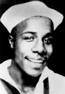Alex Haley while in the U.S. Coast Guard. (August 11, 1921-February 10, 1992)