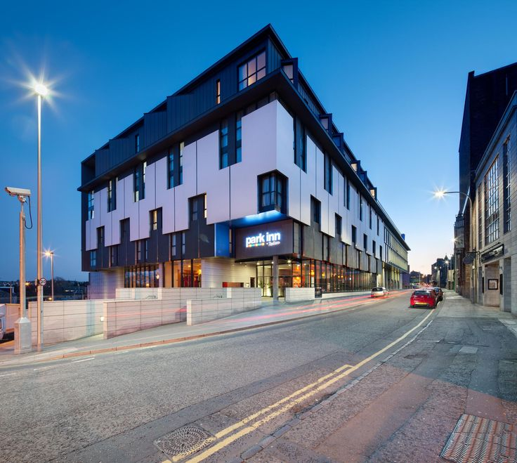 Justice Mill Lane Park Inn Hotel and Office Development, Aberdeen