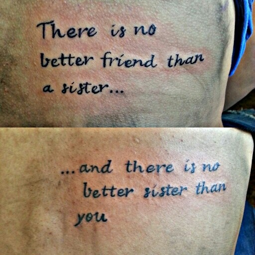 Best 25+ Sister quote tattoos ideas only on Pinterest | Roots ...