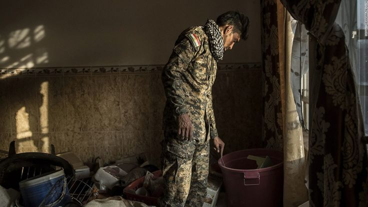 The homes left behind by ISIS #World #iNewsPhoto