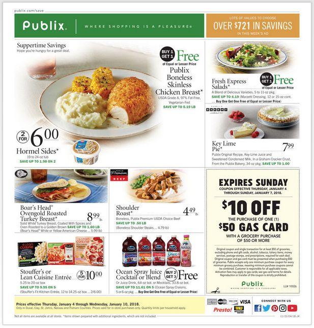 Publix Weekly Ad Jan 04-10, 2018 https://www.weeklyadspecials.com/publix-weekly-ad