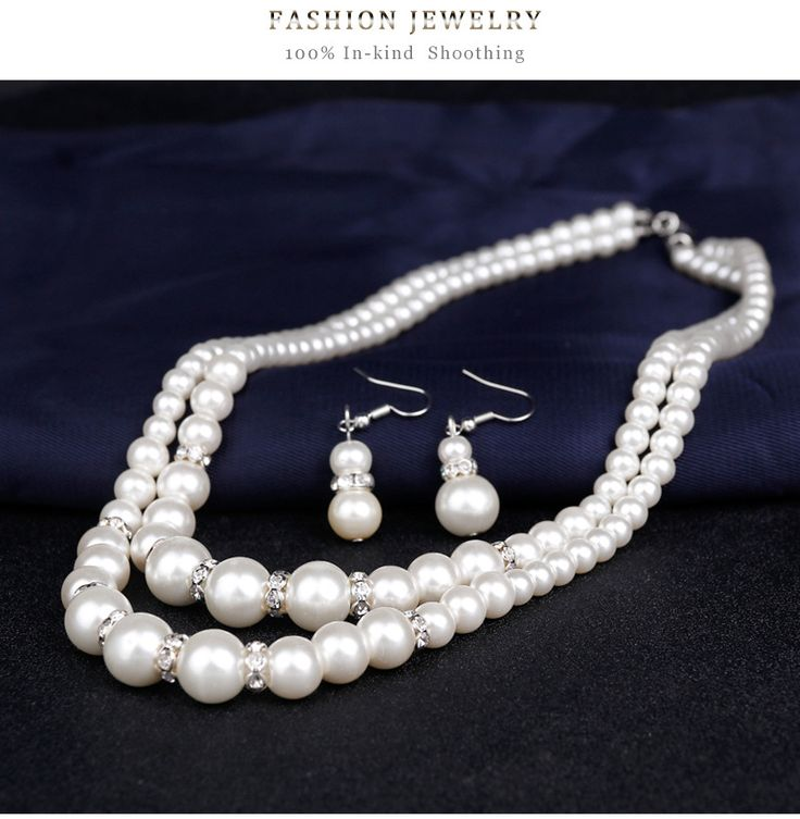 Occident and the United States alloy plating Necklace set (CA245-A)NHDR1461