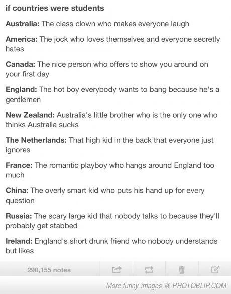 HAHA TRUE!>>> my favorite country is Ireland!!!