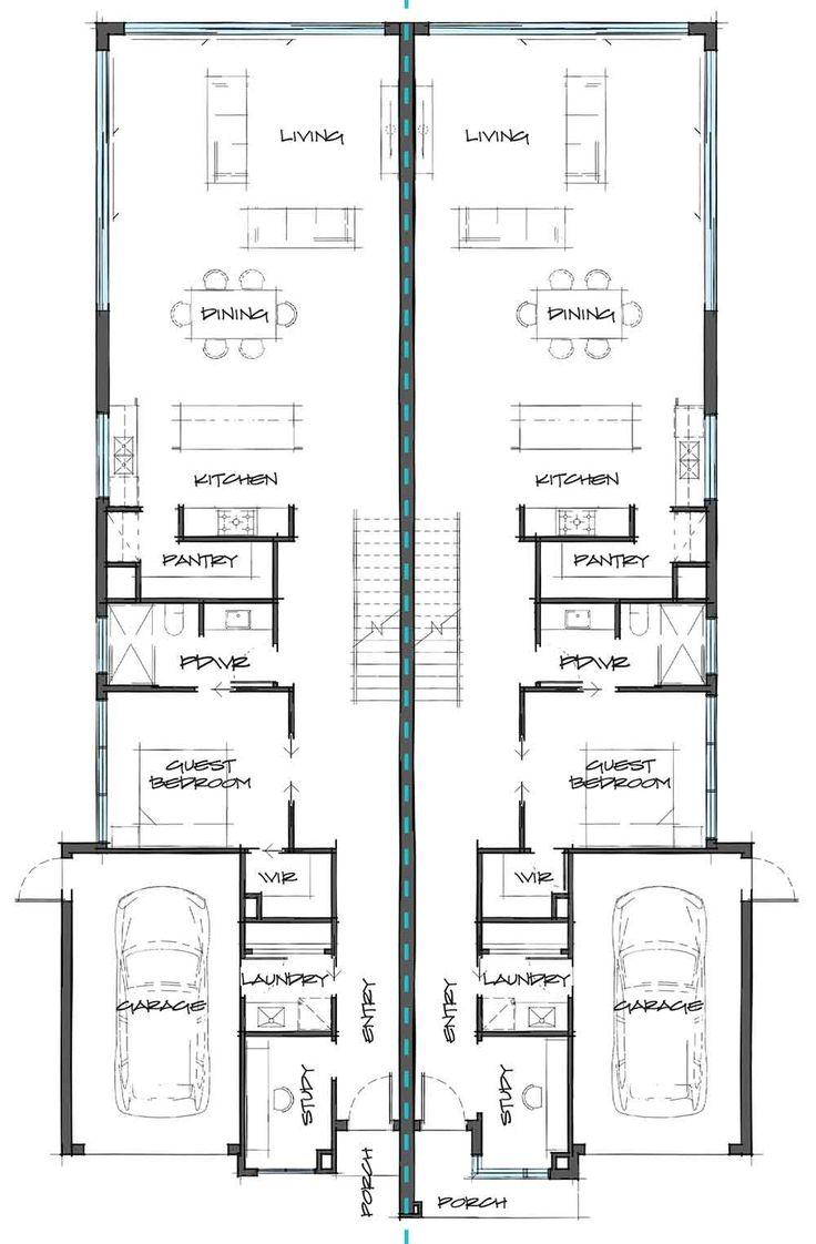 Pin Su Dual Occupancy Plans Casa Design