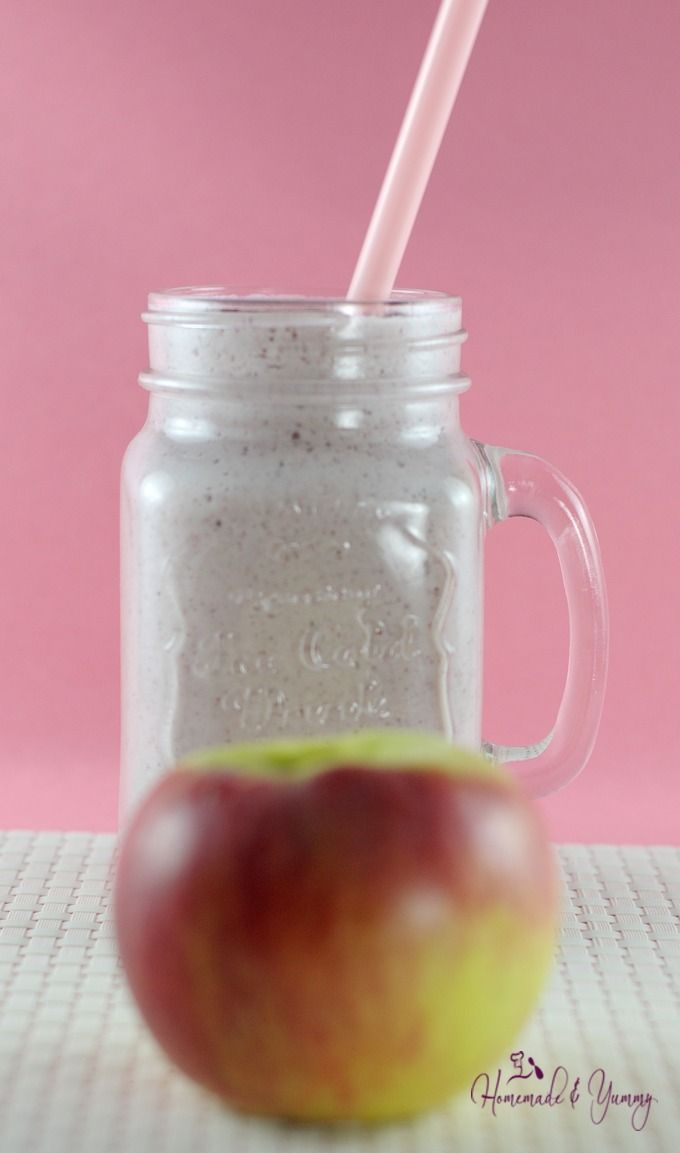 A Post Workout Apple Cottage Cheese Smoothie Is Just What You Need